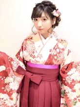 卒業式 袴 成人式 振袖 ルーズ ヘアアレンジ.30
