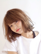 [ZENKO吉祥寺Chere]重軽レイヤーボブで春っぽ揺れ感ボブ マニッシュ.58