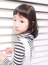 【自由が丘 quint: neolive】☆キッズ×個性派フリンジバング☆ 好感度.52
