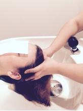アロマの香りは選択OK◎ア-ユルヴェ-ダの手技を取り入れたマッサ-ジでゆったり頭皮ケア★炭酸泉も大人気!