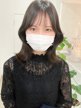 《xena》haru☆小顔効果バツグン♪シースルー2WAYバング*