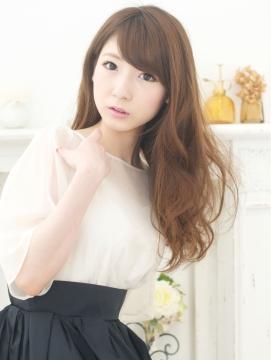 【CURACION】斜め前髪×SWEETロング