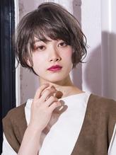 無造作カールボブショート9 小顔◎ GAFF表参道 岡田道好.41