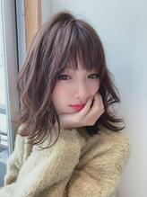 [OCEAN Hair&Life藤原 純]無造作外ハネボブディ☆.7