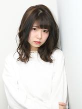 ナチュラル ひし形シルエット バレイヤージュカラー.37