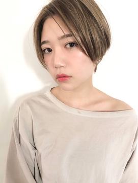 【December】前髪なし/ハイトーン/ハンサムショート♪
