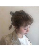 ニュアンス前髪×三つ編みarrange◎.41