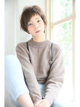 【Madu】前髪アシメ大人可愛いベリーショート