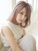 《Agu hair》ゆるふわ抜け感ミディアムボブ☆.6