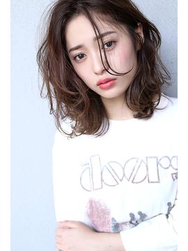 【Blanc/姫路】無造作/デジタルパーマ/カジュアルボブ