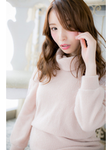 高崎★斜めバング☆グラマラスなフェアリーロング♪a TOKIO.47