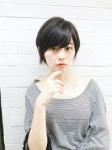 PHASE神田剛弘 トップふんわり黒髪ショートボブ 青山 表参道 40代.36