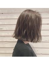 【GARDEN本木】パーソナルカラーのセミウェットタンバルモリボブ おしゃれ.37