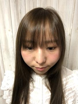 【before】hair loop