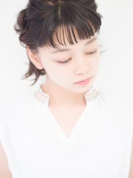 【DaB】夏の簡単アレンジ☆インナーカラー似合わせカットオン眉