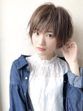 大人かわいい 小顔 大人 ショート ひし形.39