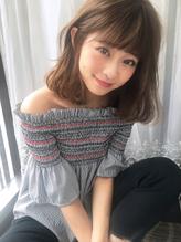 【gallaria三好】ゆるふわミディアムボブ 女子力.6
