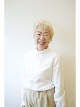 【えがお美容室】50代60代にオススメ☆個性系レイヤーショート