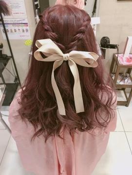 【prize池袋西口】YUKO 簡単ハーフアップアレンジ