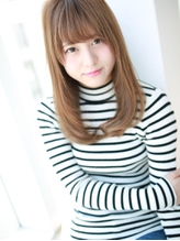 シンプル☆さらツヤストレート .58