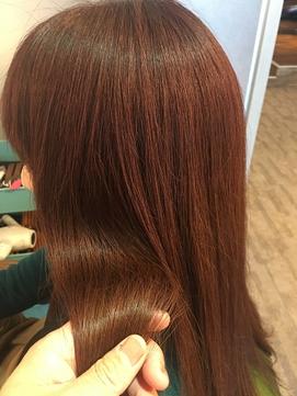 【髪質改善の極】~KIWAMI~×カッパーブラウン