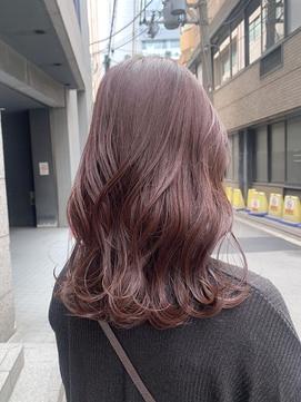 #ベリーショコラ #ピンクブラウン #髪質改善