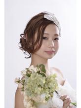 花嫁ヘアアレンジ ウェディング.33