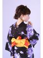 ●浴衣アレンジ●ふんわりサイドアップヘア【EARTH東久留米店】