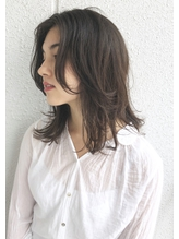 【MOAHWK中目黒】かきあげバング × 抜け感ミディ.27