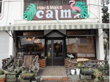 ヘアアンドメイク カーム(Hair&Make Calm.)