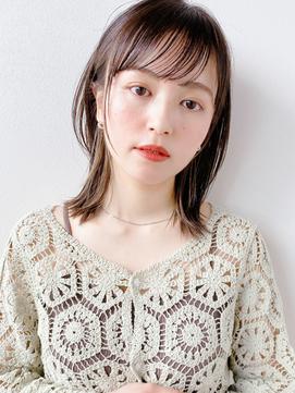 [K-two青山]大人カジュアル×ミディアムストレート[表参道]