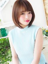 【ジュレベール 松田】艶ストレートで大人フェミニン☆ 上品.53