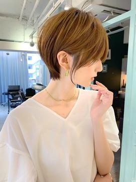 【石田勇士郎】インナーカラー髪質改善ローライトスリークボブ