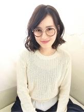 【大人女子のふんわりボブディ】仲宗根 尚美 メガネ.32