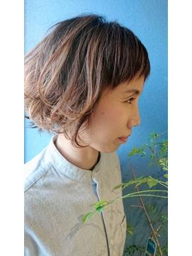 《Kubu hair》ボリュームボブパーマ