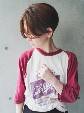 【+~ing】ハンサム刈り上げ女子ベリーショート【畠山竜哉】
