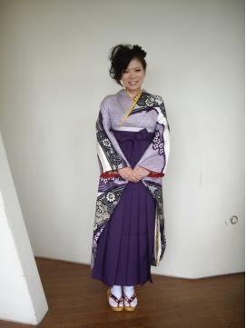 卒業式、袴スタイル