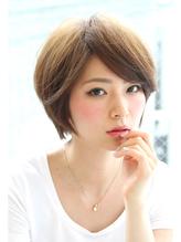 「Orque」ミセス×小顔ショートボブ イエローアッシュ.34