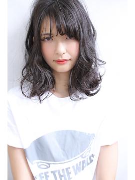 【Blanc/浜松】ダークグレージュ×ミディアムボブ
