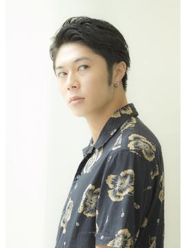 【heel銀座】上杉秀明 甘め2ブロック★メンズショート