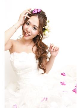 wedding前撮りプラン♪マーメイドサイドアップ