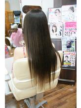 営業ビフォーアフター、*伸ばしかけ*chichikaka縮毛矯正.13
