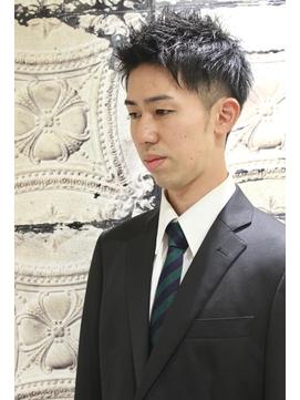 【ヨシザワ横浜】清潔感ツーブロックリクルートアップバンク