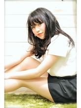 黒髪ニュアンス艶ロング .44
