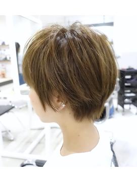 【DISHEL】ハンサムベリーショート