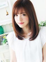 【ジュレベール 松田】 ナチュラル可愛い艶ストレート★ 編み込み.34