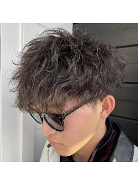 スパイラルパーマ_デザインパーマ_マッシュ_抜け感/183
