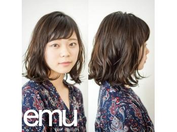 エミューヘアー デザイン ゆいの杜店(emu hair design)