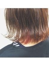 いちご色のポイントカラー .53