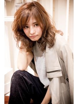 2019【MINX原宿須永】デジタルパーマで作る大人の抜け感ミディ